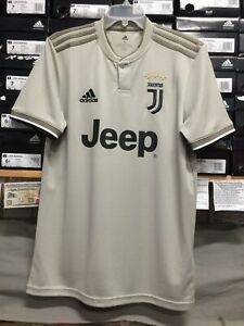 newest 19757 813f5 Details about Adidas Juventus Away Jersey #7 Cristiano Ronaldo 2019 Size  Small Only