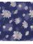 Blue Daisy flower Print Scarf Scarves Shawl throw wrap present gift
