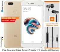 "Xiaomi Mi5x 64GB 5.5"" Qualcomm Snapdragon 625 Dual Lens Cameras 4GB RAM UK"