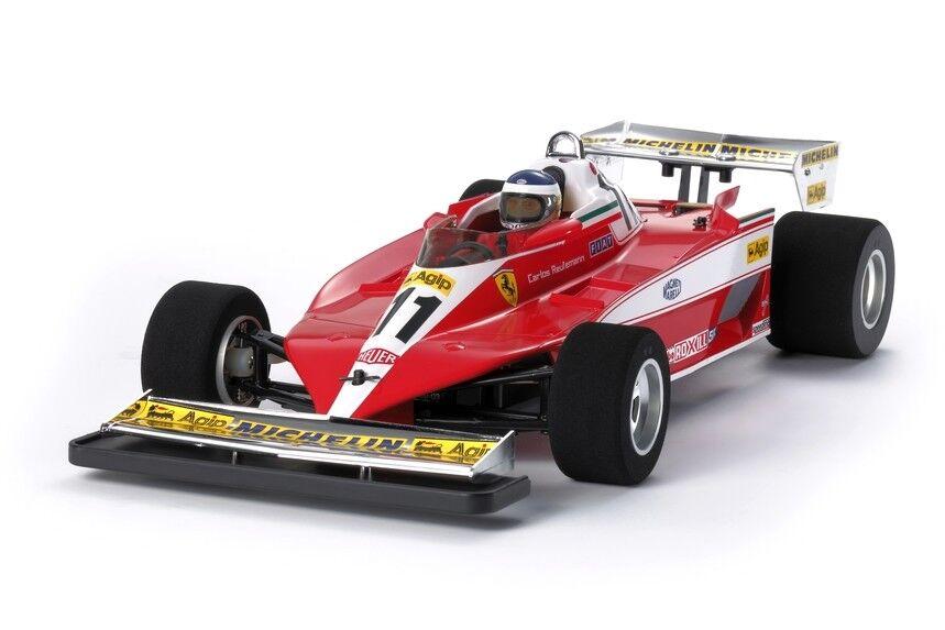 Tamiya 47374 1 10 RC Formula  One F104W Chassis Ferrari 312T3 Limited edizione Kit  negozio di sconto