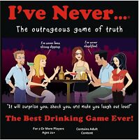 I`ve Never Board Game Adult Version , New, Free Shipping on sale