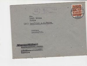 germany 1947 allied occupation stamps cover ref 18689