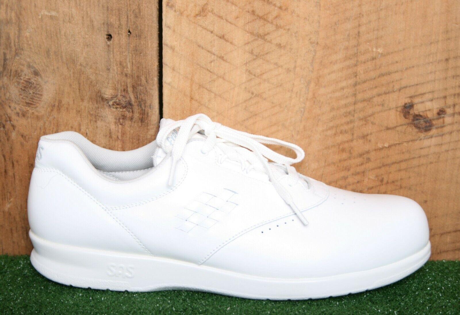 SAS'Free Time 'bianca Leather Oxfords Comfort Walking scarpe  Wouomo Sz.10.5 M  più economico