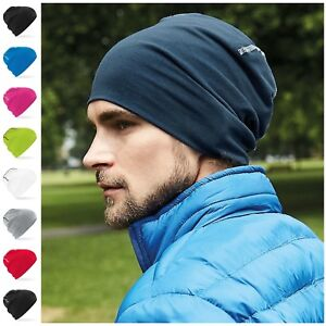 6369c362f89 Image is loading Stretch-Beanie-Hat-Skater-Ski-Sports-Cycling-Winter-