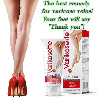 Varikosette Foot cream against varicose veins Relieves leg..
