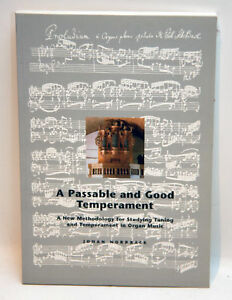 Image Is Loading A PASSABLE AND GOOD TEMPERAMENT Johan Norrback ORGAN