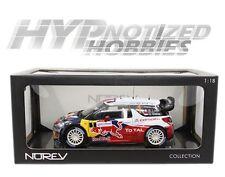 NOREV 1:18 CITROEN DS3 WRC WORLD CHAMPION RALLYE DE FRANCE DIE-CAST WHITE 181552