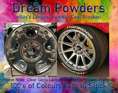 How to get the mirror effect in powder coating alloy wheels
