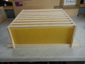 22 Sn5 Construit Redwood Cadres Avec Foundation,-afficher Le Titre D'origine Un BoîTier En Plastique Est Compartimenté Pour Un Stockage En Toute SéCurité
