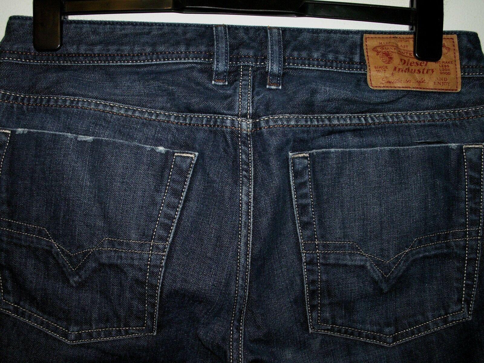 DIESEL Jeans avviocut Zatiny Lavare 0806W W32 L30 (a4537)