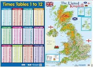 A2 United Kingdom Map Map - BerkshireRegion