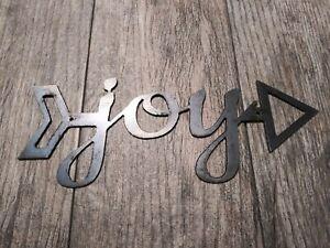 Joy sign metal wall art*metal wall decor