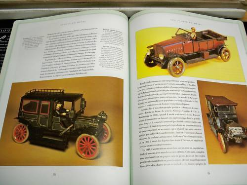 JOUETS EN METAL tin collectible steel illustrated ANTIQUE TOYS french book