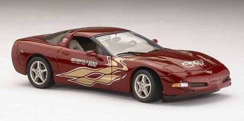 2002 Corvettes officiella Indy Pace Car LE- Franklin Mint -Ny ruta