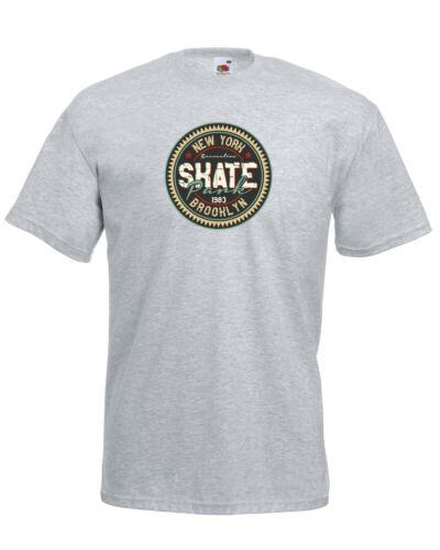 New York Skate Park Brooklyn graphic design de qualité T-Shirt Tee Homme Unisexe