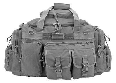 EastWest XL Troop Carrier Duffle Bag GRAY Tactical Hum-vee Operator Survival*