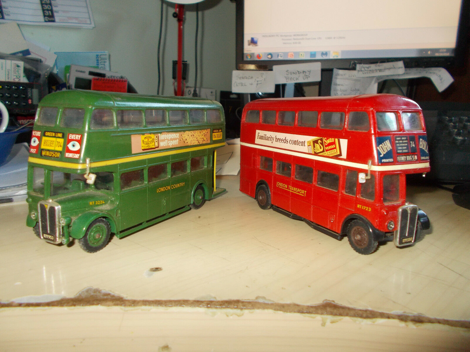 SOLIDO AEC RT LONDON COUNTRY & LONDON TRANSPORT MODELS