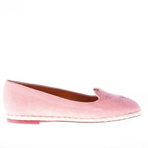 CHARLOTTE-OLYMPIA-women-shoes-pink-linen-Capri-Cats-espadrillas-flat-Kitty-face
