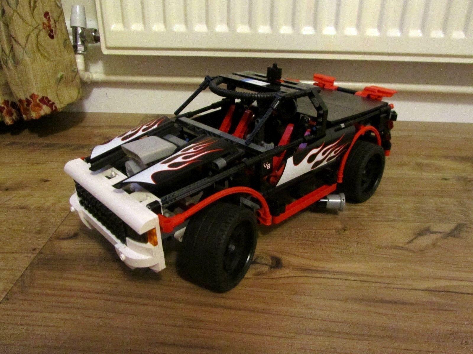 LEGO 8682 NITRO INTIMIDATOR 100% COMPLETE