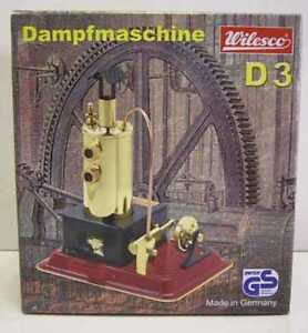 Wilesco D3 Toy Steam Engine With Brass Boiler New Au Special