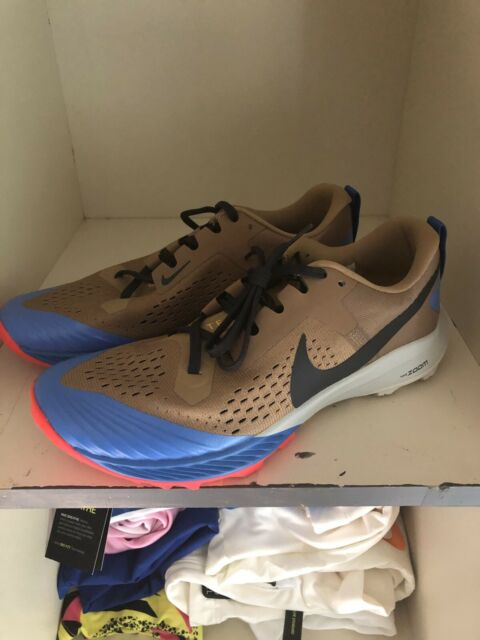 Nike Air Zoom Terra Kiger 5 Hiking Trail Shoes Brown AQ2219-200 Mens Size 8