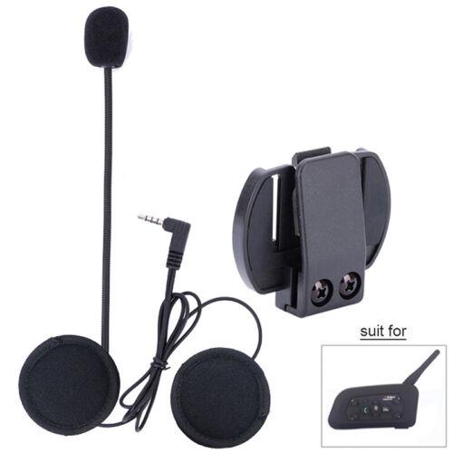 Neu Motorrad Bluetooth Headset Helm Sprechanlage Gegensprechanlage Intercom Accs