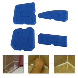 Kit-de-4x-Outil-Calfeutrage-Enlevre-Joint-Grattoir-Lisseur-Silicone-plancher-sol