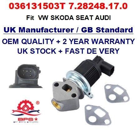 EGR Valve 036131503T EG10309-12B1 with Gasket for VW SKODA SEAT AUDI OEM Quality