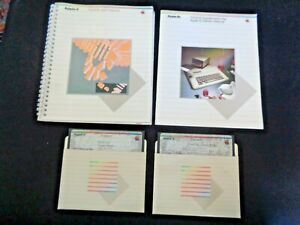 Vintage-1983-Apple-IIe-ProDOS-User-039-s-Manual-Computer-DOS-3-3-Disks-System-Master