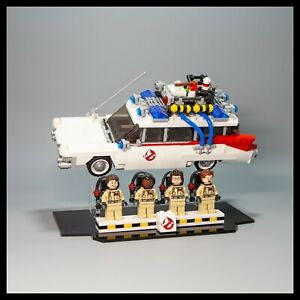 Ghostbusters-Ecto-1-acrylic-display-stand-for-LEGO-model-21108