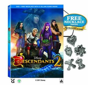 Disney-Channel-Original-Movie-Sequel-Descendants-2-DVD-Kids-Evil-Queen-Ursula