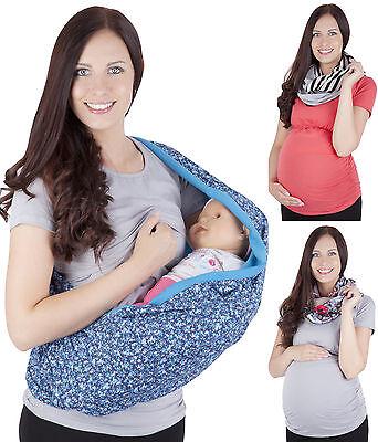 KüHn 2 In1 Nursing Shawl Scarf Nursing Cover Sling Blanket Breastfeeding 3094