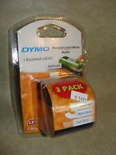 Dymo Letratag Personal Labelmaker Refills 12w X 13l 3 Cassettes