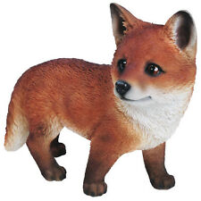 Standing Fox Cub Ornament Vivid Arts-XRL-FCB1-D