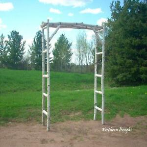 Image Is Loading White Birch Wedding Arch Kit