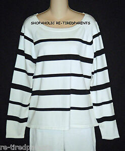 Blanc Pull Ralph Taille Rayures Vert Noir Label À Exc Lauren Et XL xZwRdxI