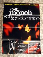 MÖNCH VON SAN DOMINICO * A1-FILMPOSTER Ger 1-Sheet ´73 VOLONTÈ, BLECH, CARRIÈRE