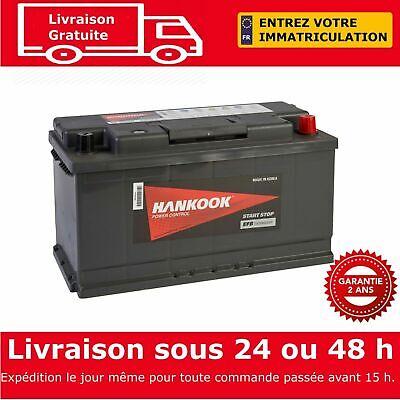 Hankook SE59510 12V 95Ah EFB Start Stop Batterie de D/émarrage Pour Voiture 354x174x190mm
