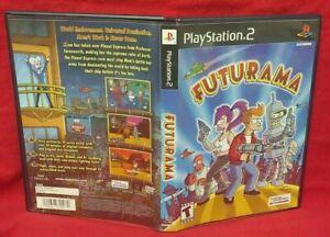 Futurama - PS2 Playstation 2 Case & Cover Art *NO GAME or Manual* Very Rare Nice