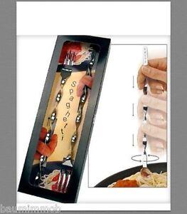 2x-Spaghettigabel-mit-dem-Dreh-034-DESIGN-PLUS-PREIS-034-Edelstahl-Solinger-Stahlwaren