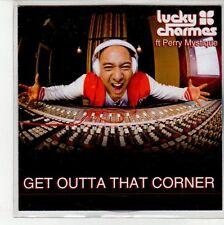 (EN698) Lucky Charmes ft Perry Mystique, Get Outta That Corner - DJ CD