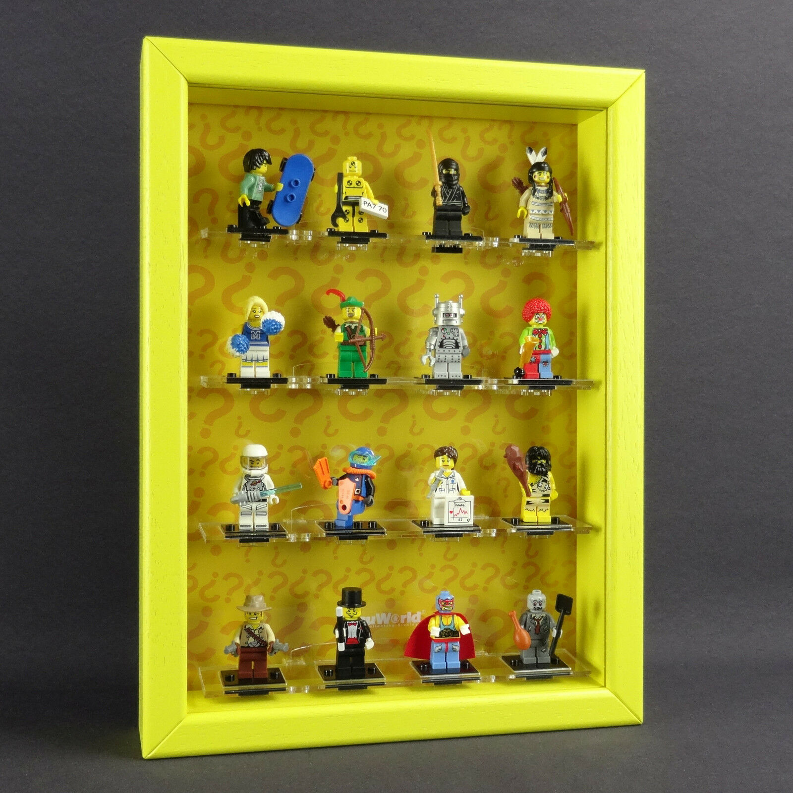 Figucase Collect Showcase for Lego Series 8683 Mini Figurines Series 1 Showcase