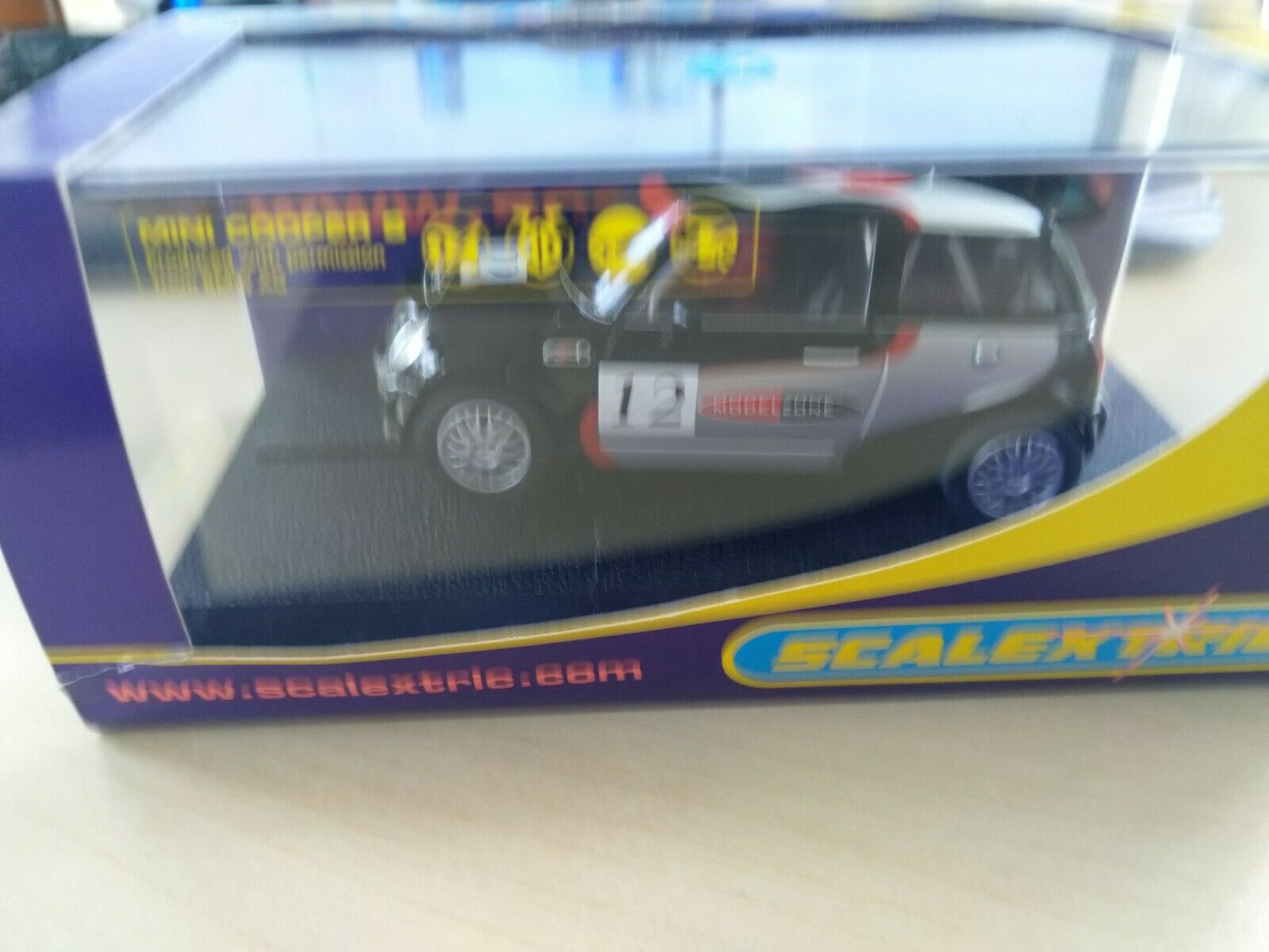 Scalextric Mini Mayhem C2631 Modelo zona Ltd Ed 103 1000   Raro   Nuevo Y En Caja
