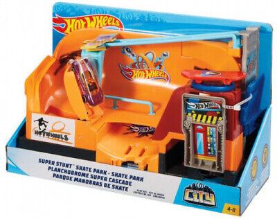 Hot Wheels Downtown Ice Cream Meltdown Playset New Kid Toy Gift