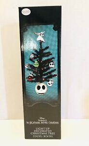 "Nightmare Before Christmas Lightup Decorated Tree 15"" Walgreens Exclusive  NIB"