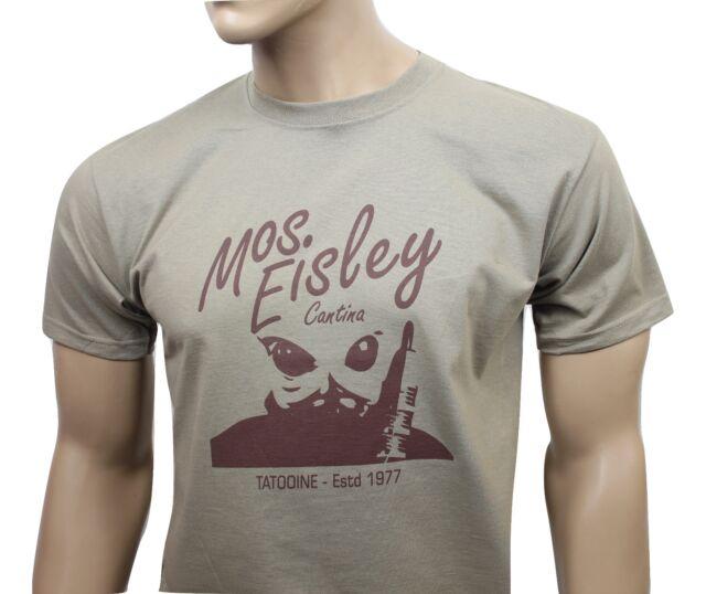 Star Wars (1977) Inspiriert Herren Film T-Shirt-Mos Eisley, Cantina