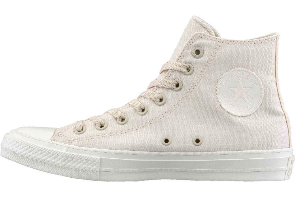 Converse Chuck Taylor ALLSTAR II Monochrome HI Solid white (151222C) Size 11 New