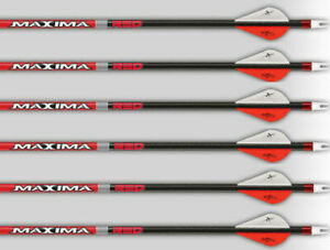 "Carbon Express Maxima Red 350 SD Badlands 2/"" Blazer 6 Pack"