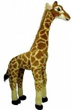 "Large 25"" GIRAFFE Plush Stuffed Animal. Big Soft Cute Huge Giant Kids Gift Toy"