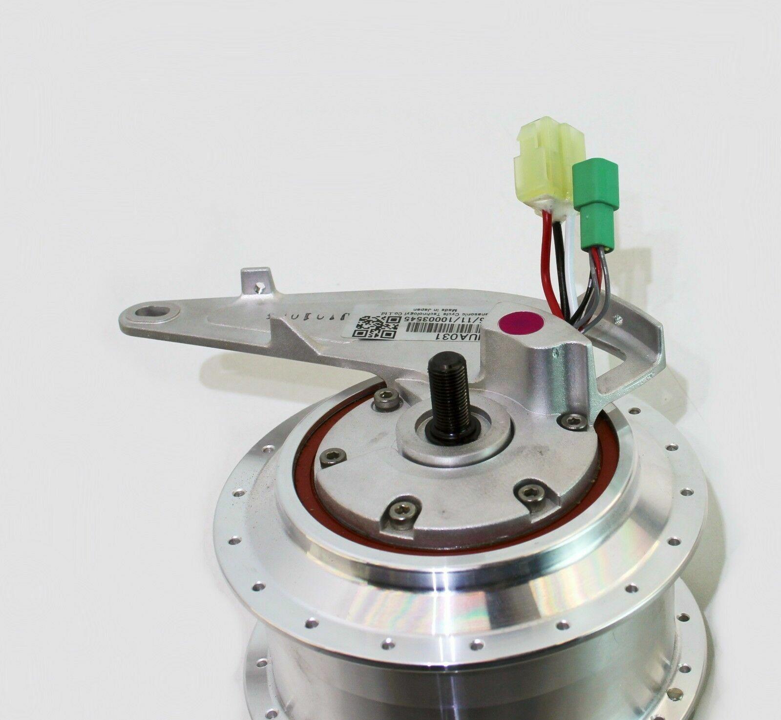 Relajación, motor delantero de Bicicleta eléctrica, nua331, 36 agujeros, nua331, ancho de instalación  100 mm, nuevo